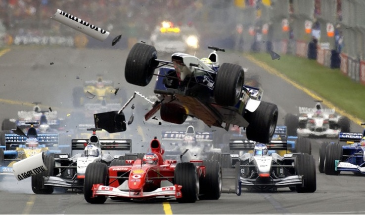 "An ""Exciting"" moment in F1"