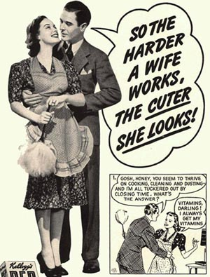 vintge sexist adverts